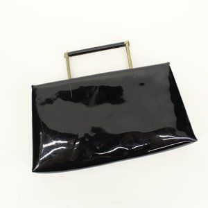 Vintage After Five Patent Leather Clutch Purse